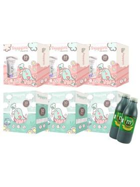 Snuggies Breastmilk Bag Mixed Buy 6 and Get 2 (300ml) M2 Malunggay Drink