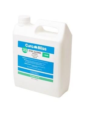 Curabliss 70% Ethyl Alcohol Green Tea Scent with Tea Tree Oil (1 Gallon)