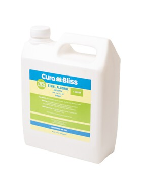 Curabliss 70% Ethyl Alcohol Bamboo Scent with Tea Tree Oil (1 Gallon)