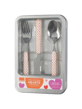 Amefa Cool Kids Children's Cutlery Set - Heart