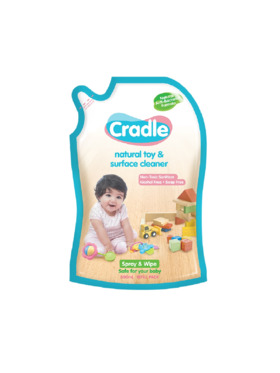 Cradle Natural Toy & Surface Cleaner Refill (500ml)