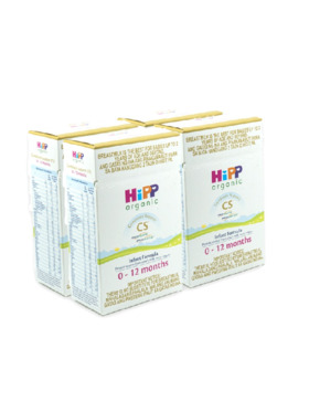 HiPP Organic Combiotic Support Bag-in-Boxes Infant Formula 0-12 Months (400g x 4)