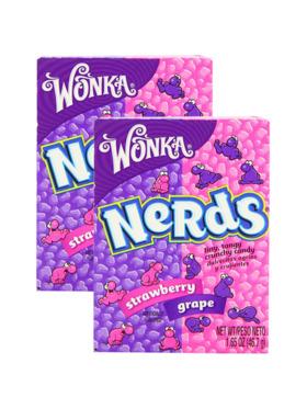 Wonka Candy Corner Nerds Grape Strawberry (2 pcs)