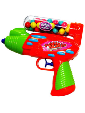 Kidsmania Candy Corner Water Gun Toy with Candy (Assorted Color)