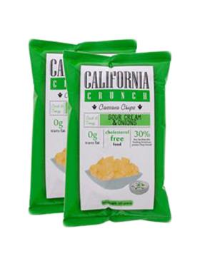 Candy Corner Candy Corner California Crunch Cassava Chips Sour Cream & Onion 120g (2 pcs)