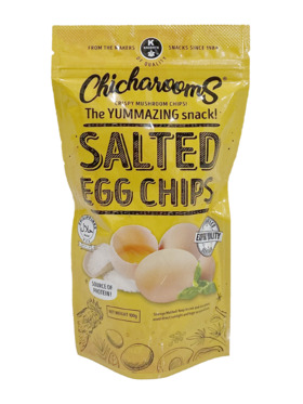 Chicharooms Salted Egg Chicharooms (100g)