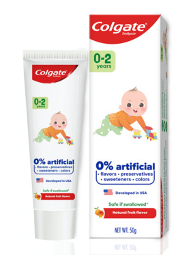 Colgate Kids Free From 0-2 Years Toothpaste (50g)