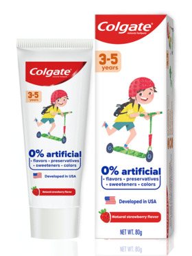 Colgate Kids Free From 3-5 Years Toothpaste (80g)