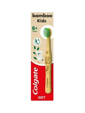 Colgate Kids Natural Bamboo Toothbrush (6+ Years)