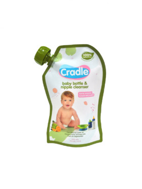 Cradle Natural Bottle and Nipple Cleanser Refill (200ml)