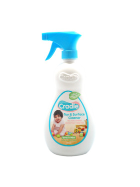 Cradle Natural Toy & Surface Cleaner Bottle (500ml)