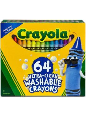 Crayola Ultra Clean Washable Crayons (64 Count)