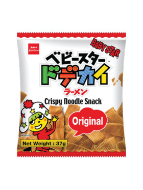 Baby Star Crispy Noodle Snack - Original 37g (8-Pack)