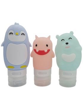 The Little Hot Air Balloon Cute Creatures 3 Bottle Set