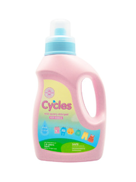 Cycles Mild Laundry Detergent for Babies (1.5L)