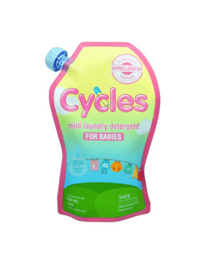 Cycles Mild Laundry Detergent for Babies (200ml)