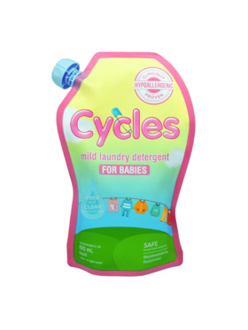 Cycles Mild Laundry Detergent for Babies (800ml)