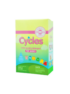 Cycles Mild Laundry Detergent for Babies  Powder (500g)