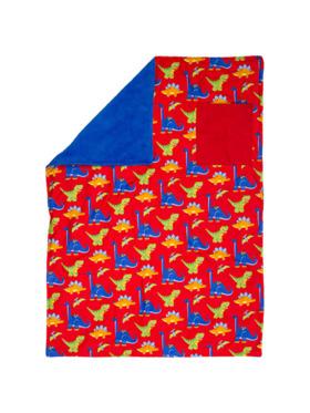 Stephen Joseph Printed Blanket for Kids (Dino Design)