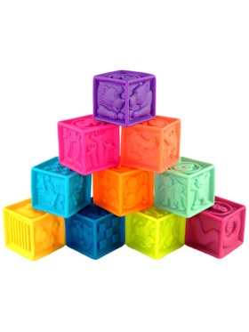 B. Toys One Two Squeeze - Baby Blocks