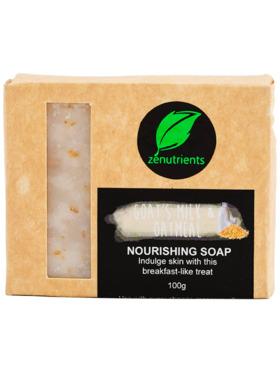 Zenutrients Goat's Milk & Oatmeal Nourishing Soap (100g)