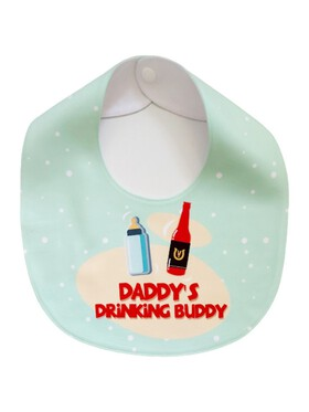 Bibs Manila Daddy's Drinking Buddy Bib