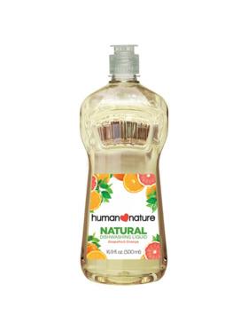 Human Nature Natural Dishwashing Liquid - Grapefruit Orange (500 ml)