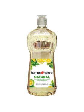 Human Nature Natural Dishwashing Liquid - Lemon-Calamansi (500 ml)