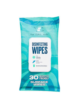 Two Little Ducks Disinfecting Surface Wipes (30 pulls)