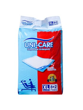 Uni-care Disposable Underpads Extra Large (10s)