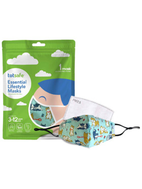 Totsafe Lifestyle Mask - Dogs Set (with 3 filters)