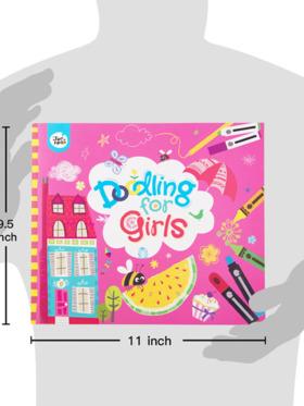 Joan Miro Doodling Book for Girls