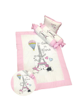 Kozy Blankie Eiffel Tower Comforter Set