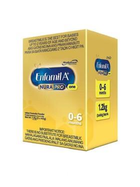 Enfamil Enfamil A+ One NuraPro Infant Formula Powder for 0-6 Months 1.2kg