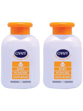 Enfant Anti-Rash Baby Powder 150g (2-Pack)