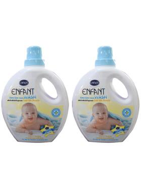 Enfant Extra Care Fabric Wash Bottle 1000mL (2-Pack)
