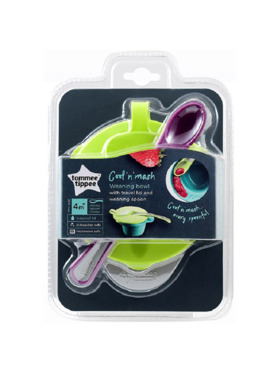 Tommee Tippee Explora Cool & Mash Weaning Bowl