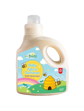 Tiny Buds Natural Sweet Honey Scent Fabric Softener (1.5L)