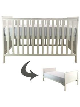 Cuddlebug Fontana 2in1 Convertible Crib
