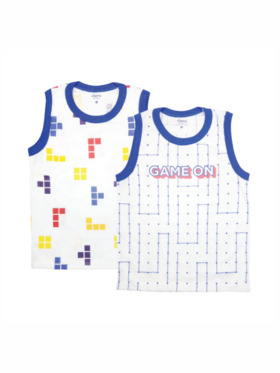 Looms Game On Collection Muscle Shirt (2pcs)