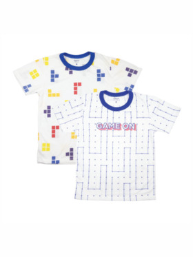 Looms Game On Collection Boys T-Shirt (2pcs)