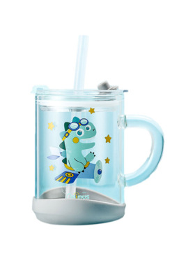 Baby Prime Sip and Straw Glass Cup
