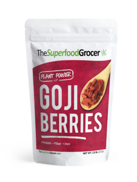 The Superfood Grocer Goji Berries (227 g)