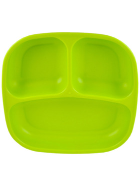 """Re-play Recycled 7"""" Divided Plate"""