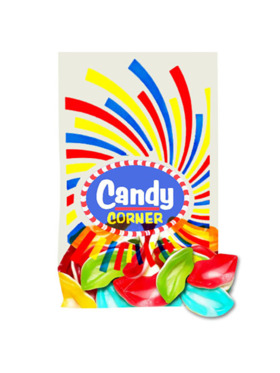 Fini Candy Corner Gummy Lips (300g)