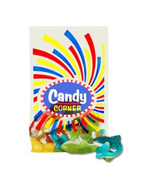 Fini Candy Corner Gummy Sharks (300g)
