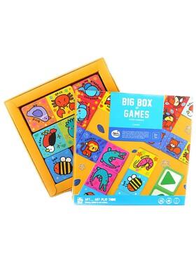 Joan Miro Big Box of Games - Cute Animals (3 Games)