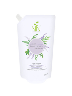 Nature to Nurture Plant Based Hand Soap Lavender Refill (1000ml)