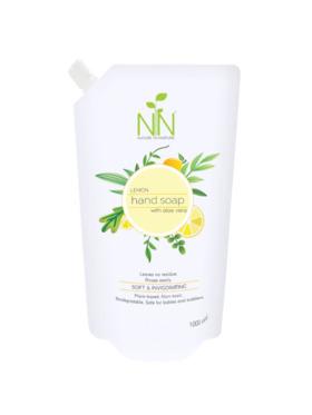 Nature to Nurture Plant Based Hand Soap Lemon Refill (1000ml)