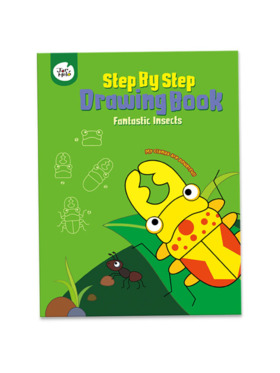 Joan Miro Step by Step Drawing Book - Fantastic Insects